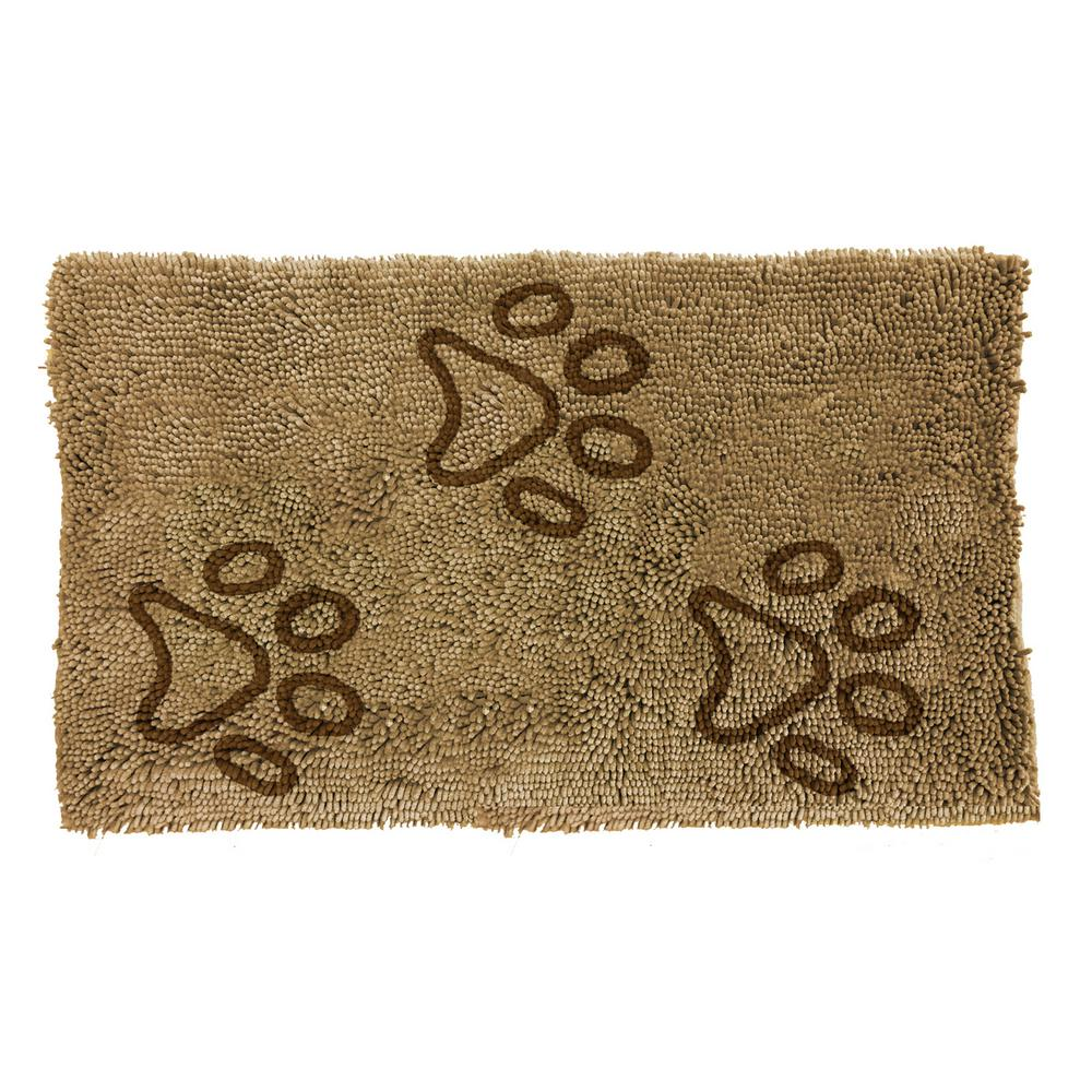 Home Dynamix Comfy Pooch Clean Paw Beige Brown 21 In X 30