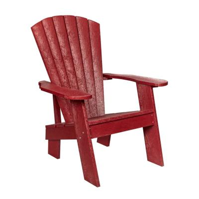 Capterra Casual Red Rock Recycled Plastic Adirondack Chair