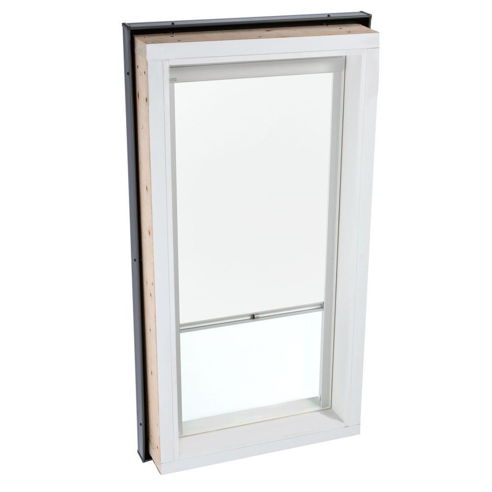 VELUX White Manually Operated Light Filtering Skylight Blind for FCM 3434 Models