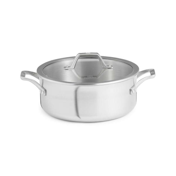 Calphalon Signature 5 qt. Stainless Steel Dutch Oven with Cover 1948243