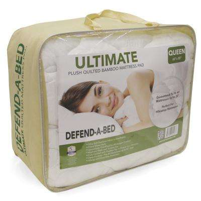 Ultimate Queen-Size Bamboo-Rayon Quilted Waterproof Mattress Protector