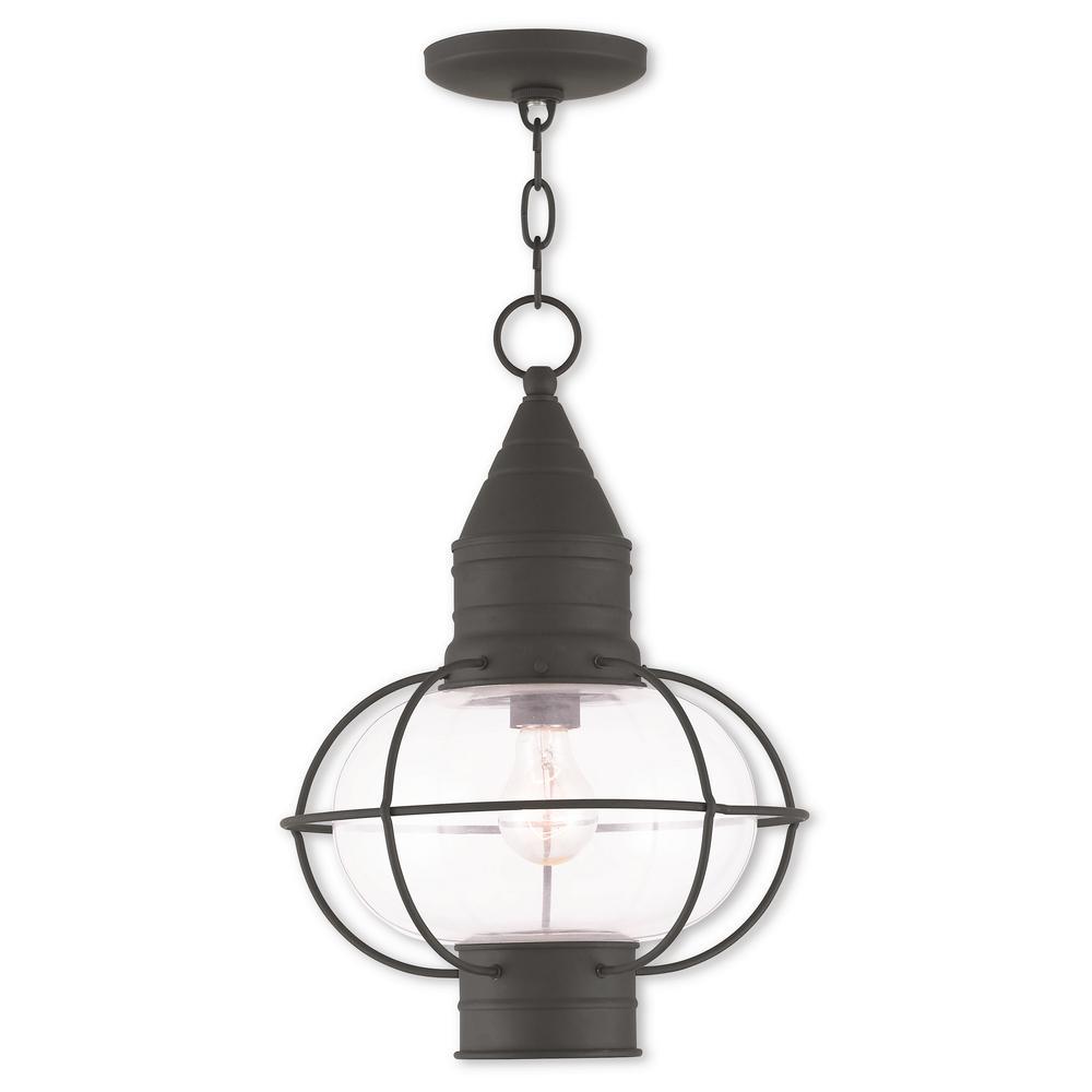 Newburyport Black 1-LightOutdoor Hanging Lantern