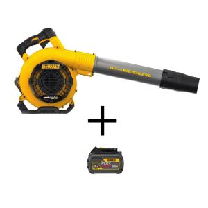129 MPH 423 CFM 60V MAX Lithium Ion Cordless FLEXVOLT Handheld Leaf Blower with (2) 3.0Ah Batteries and Charger Included