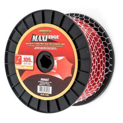 665 ft. Maxi Edge 0.105 in Commercial Trimmer Line fits Most Gas String Trimmers