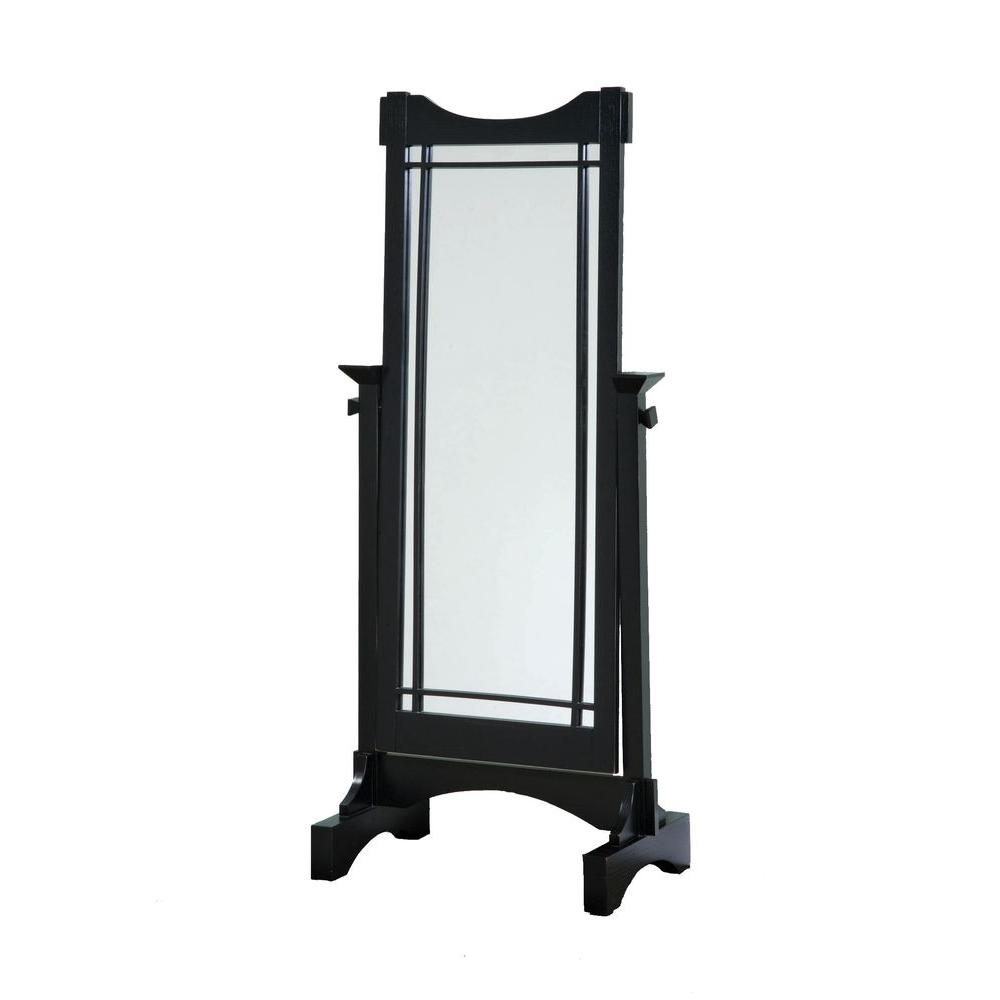Powell 60 in. x 16 in. Wood Framed Cheval Mirror