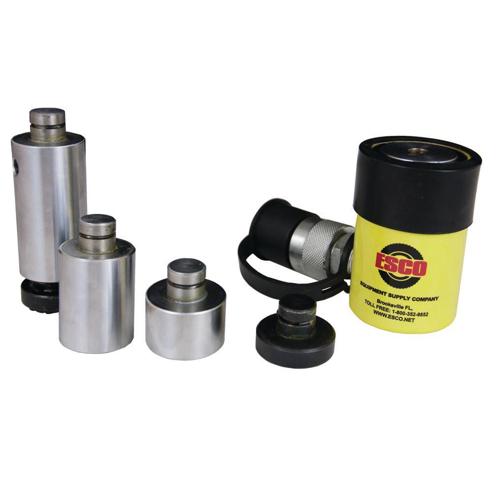 10-Ton Universal Hydraulic Ram Cylinder Kit