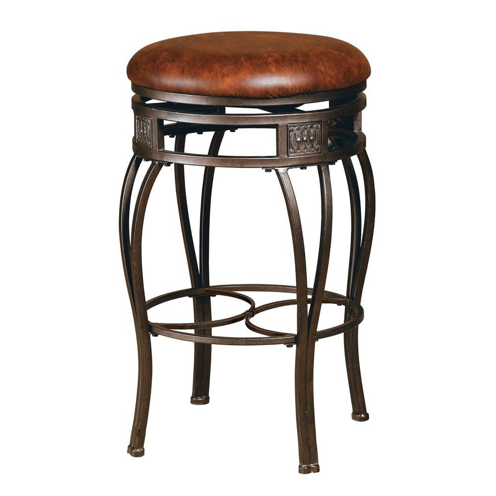 Hillsdale Furniture Montello Backless Bar Stool