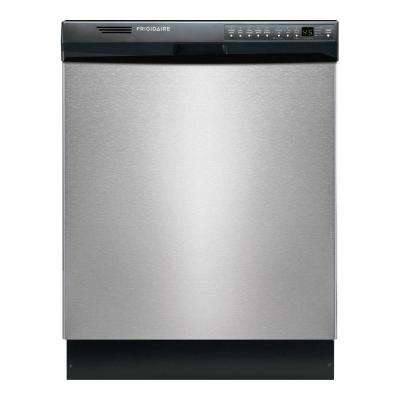 Front Control Dishwasher in Stainless Steel with Stainless Steel Tub, ENERGY STAR