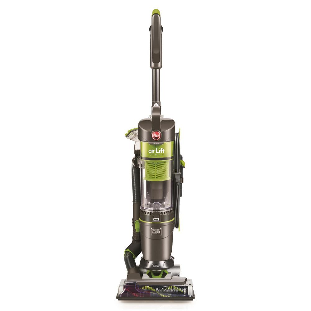 Hoover Air Lift Light Bagless Upright Vacuum And Canister