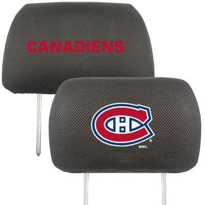 NHL - Montreal Canadiens Embroidered Head Rest Covers (2-Pack)