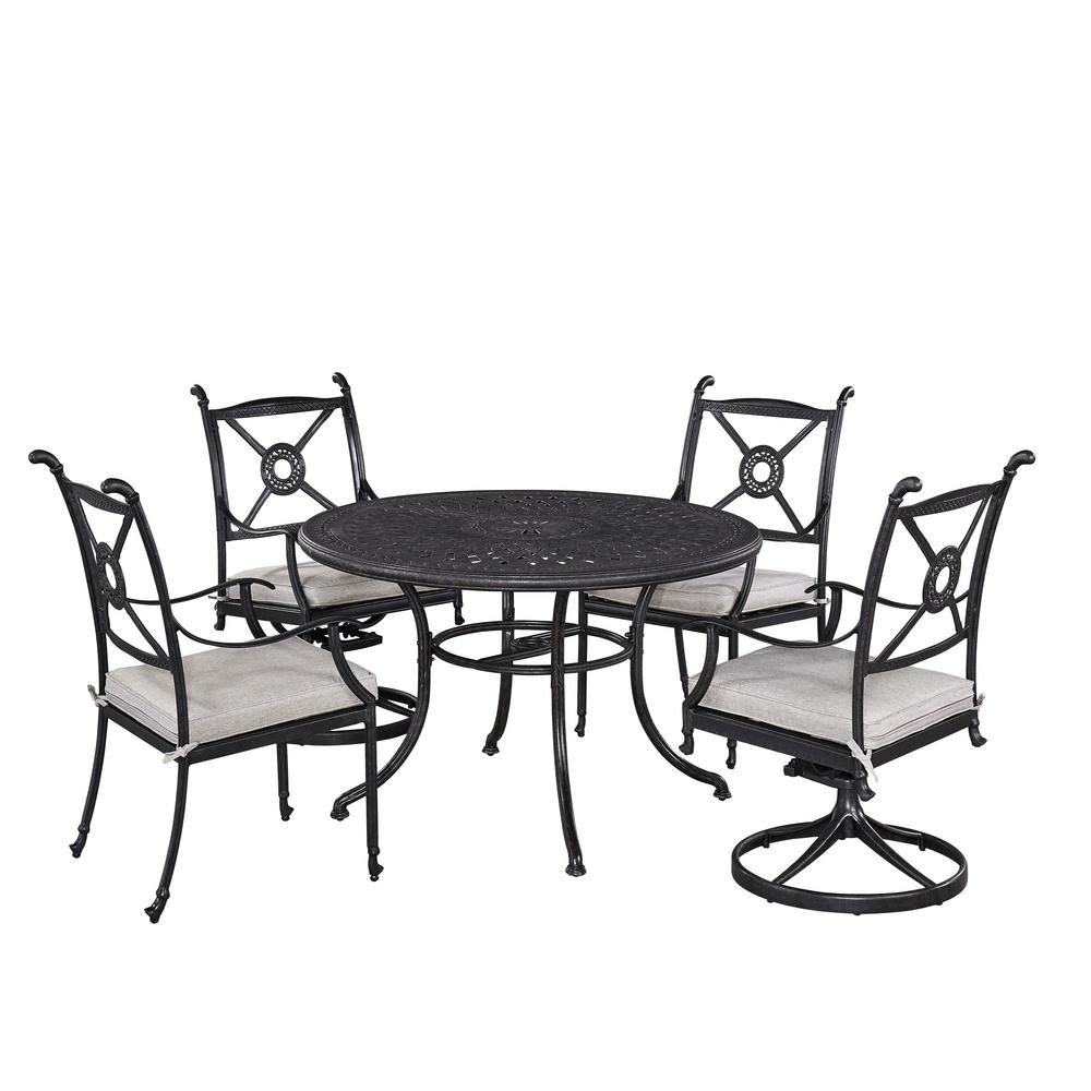Home Styles Athens 5-Piece Patio Dining Set