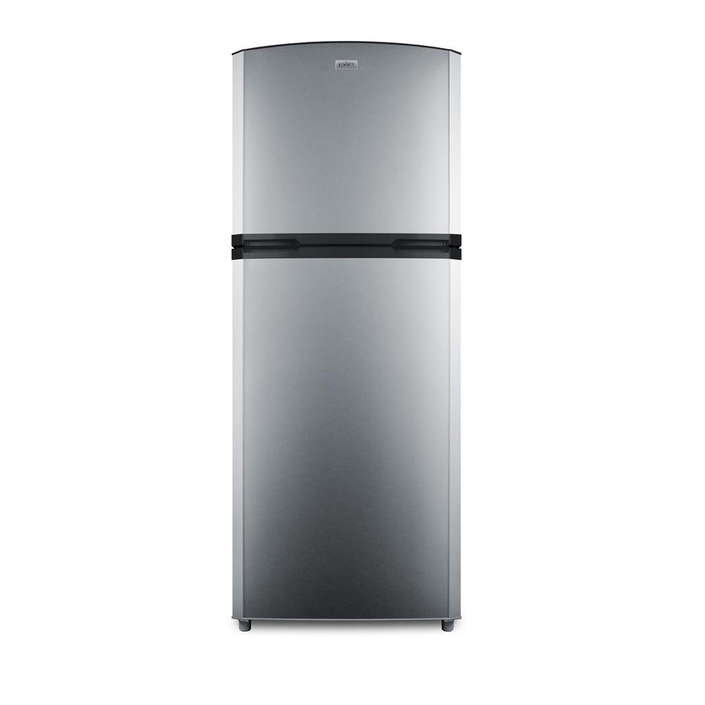 Summit Appliance 12.9 cu. ft. Top Freezer Refrigerator in Stainless Steel