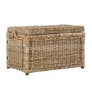 Awesome +6. Happimess Jacob 30 In. Natural Wicker Storage Trunk