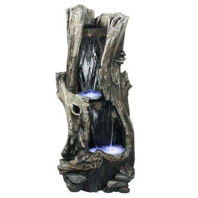 41 in. Rainforest Waterfall Fountain