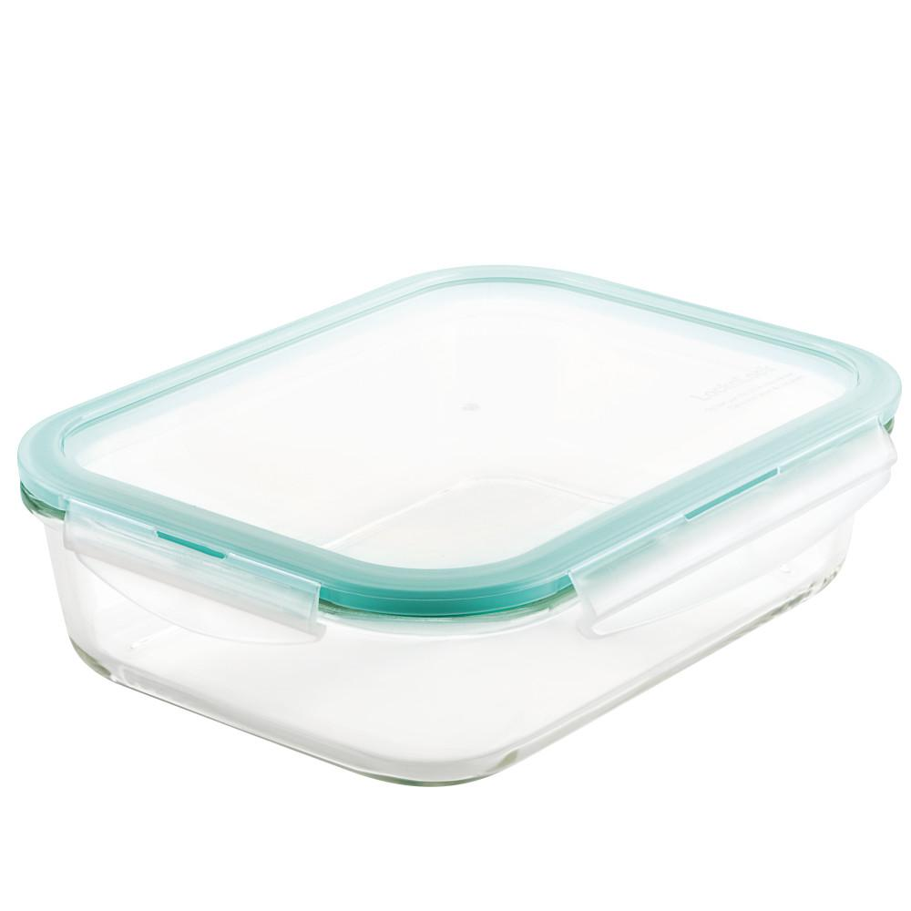 Lock Purely Better Gl Rectangular Food Storage Container 51 Ounce