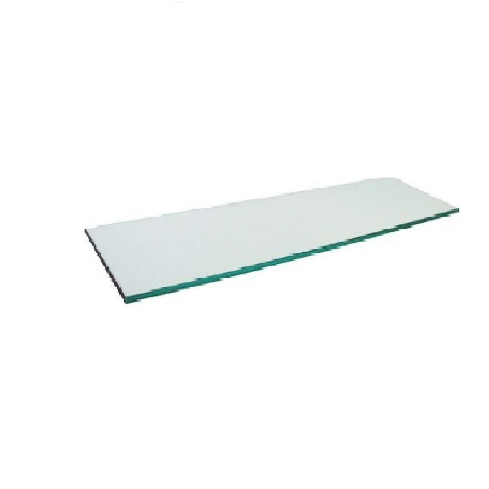 10 in. x 12 in. x .125 in. Clear Glass