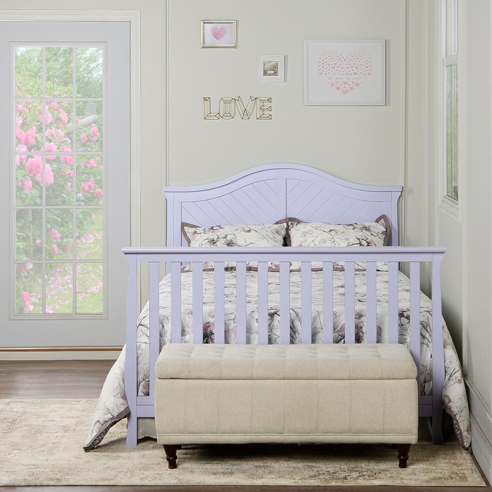 Dream On Me Universal Lavender Full Size Bed Rail 1 Pack