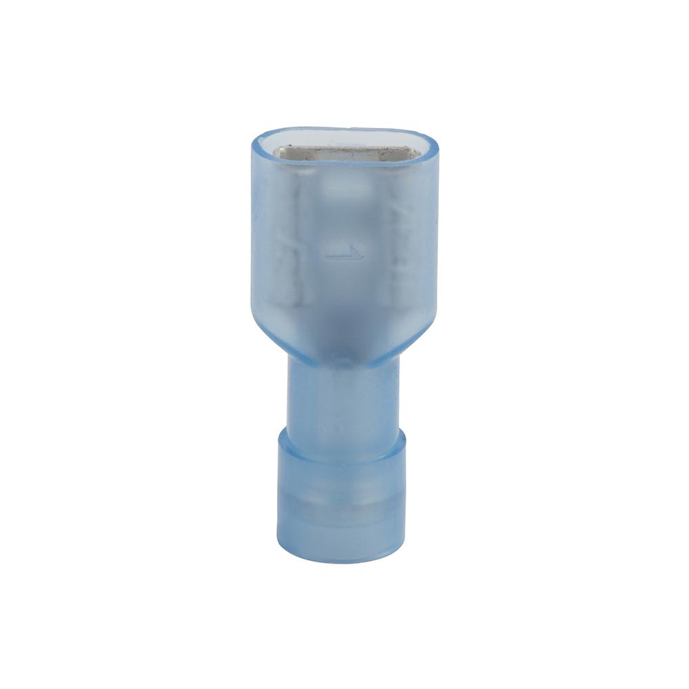 Non-Insulated 8 Gauge Female Spade Quick Disconnect .250 Stud Electrical Wire Connector Crimp Terminal 200