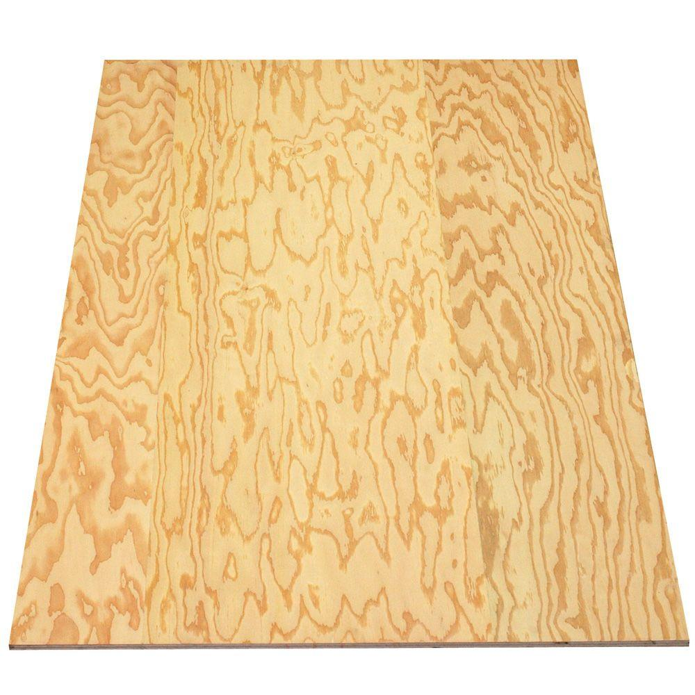 Sheathing plywood common in ft