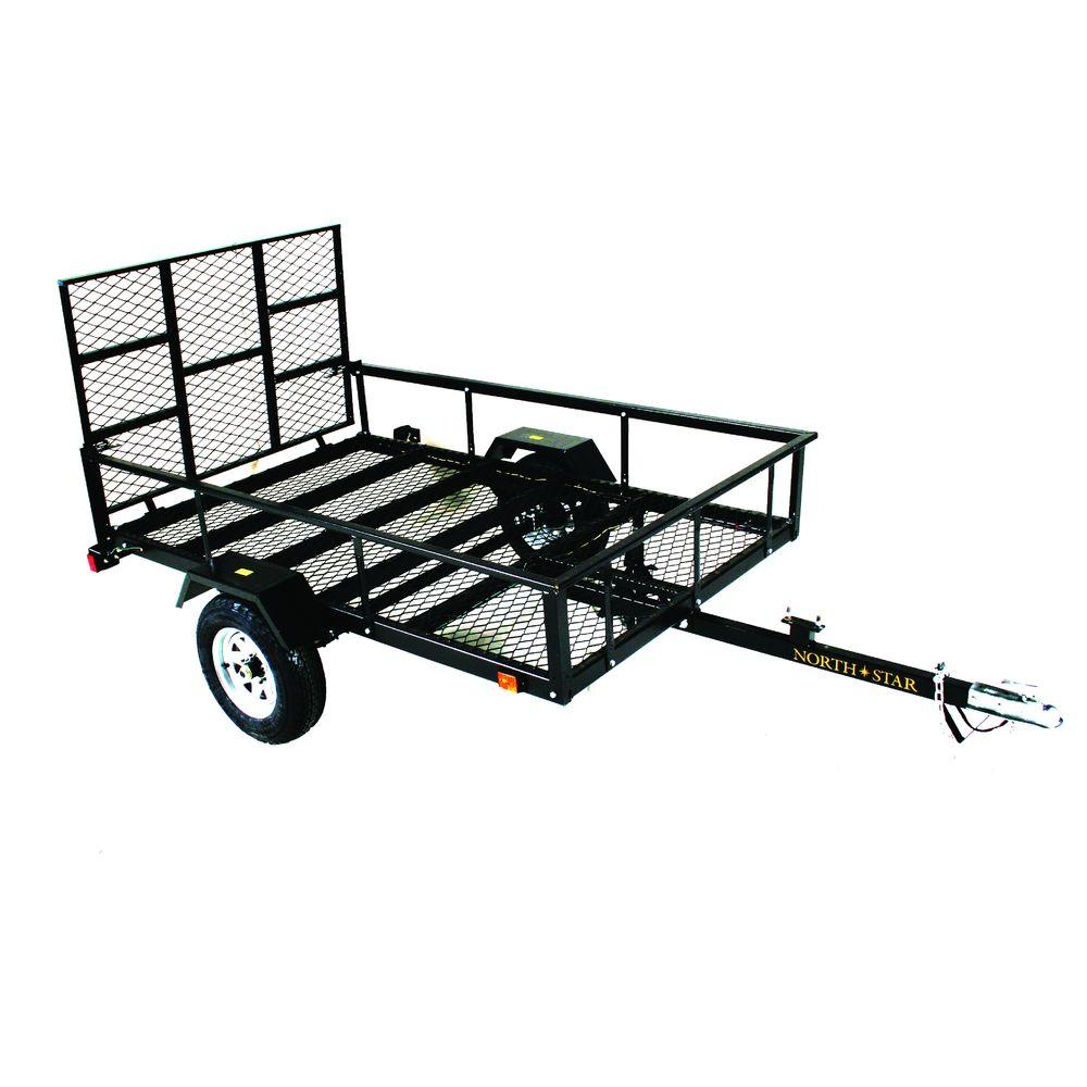 Load Star ATV Trailer Kit 5 Ft X 8 Ft ATV With Rear