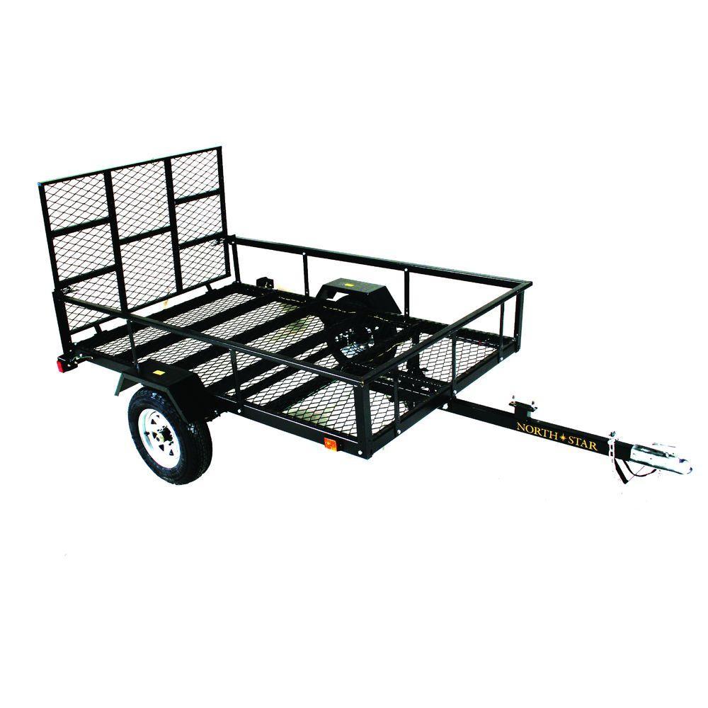Load Star ATV Trailer Kit 5 ft. x 8 ft. ATV with Rear Loading Ramp