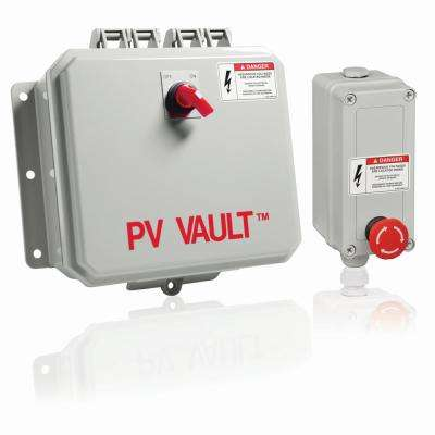 PV Vault - 2 in. 1-Out Combiner Box