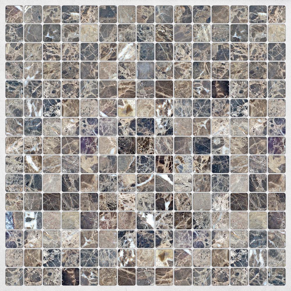 Self Adhesive Mosaic Tile Wall Decal Sticker Diy Kitchen Bathroom Home Decor Vinyl W1 Decorative Vinyl Wall Decals Stickershome Decor Aliexpress