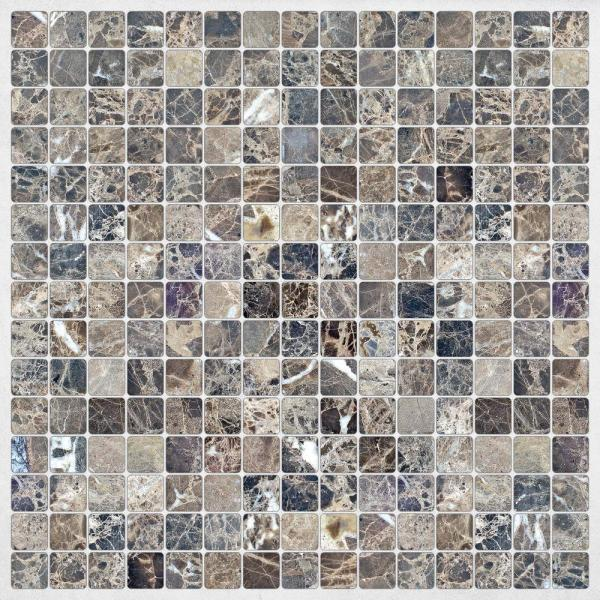 Brewster Grey Marble Peel and Stick Decal Tiles CR-31311