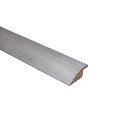 Strand Woven Bamboo Earl Grey .69 in. Thick x 2.0 in. Wide x 72 in. Length Bamboo Multi-Purpose Reducer Molding