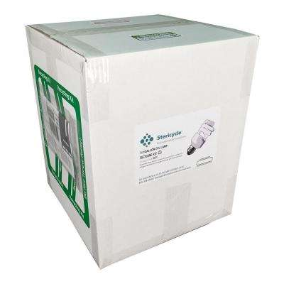 5 Gallon Compact Fluorescents Lamp (CFL) Pail Prepaid Recycling Kit (Holds 45-90 CFL's)