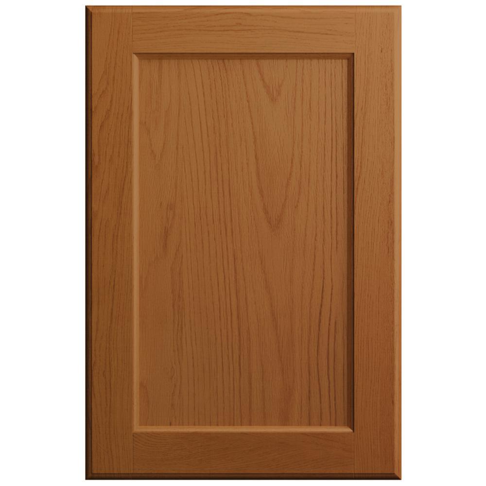 11x15 in. Keary Cabinet Door Sample in Butterscotch Oak