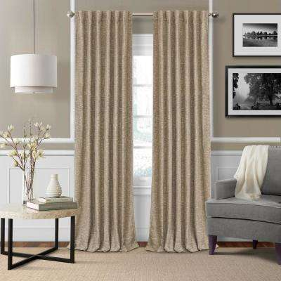 Elrene Colton 3 in 1 Single Blackout Window Panel 52 in. W x 84 in. L, Taupe