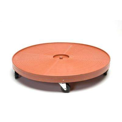 24 in. Plant Dolly/Caddy Terra Cotta