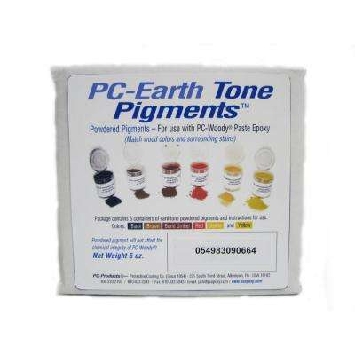 PC Earth Tone Powder Pigments