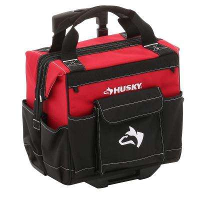 14 in. Rolling Tool Tote Bag
