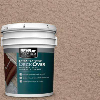 5 gal. #SC-160 Rose Beige Extra Textured Wood and Concrete Coating