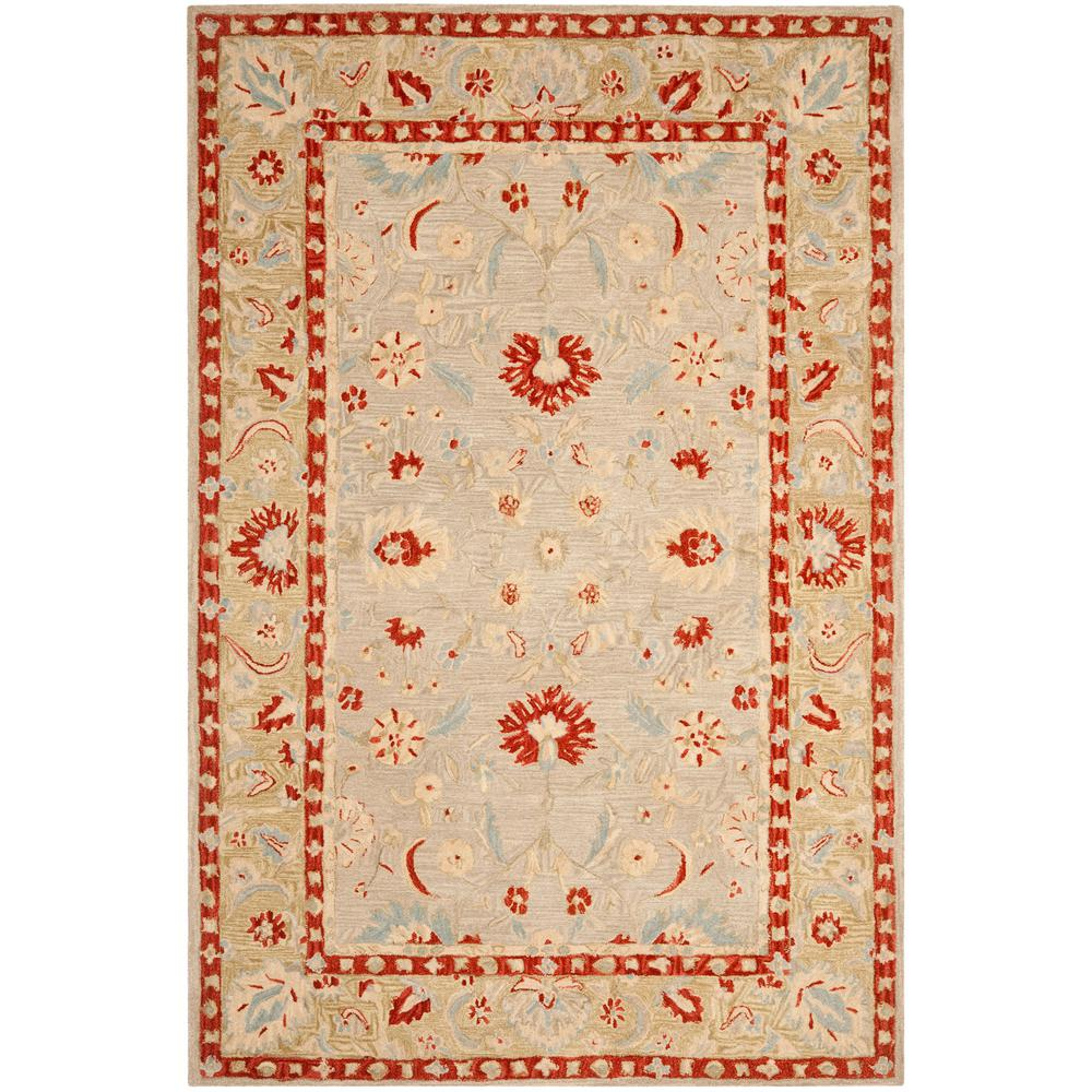 Kas Rugs Serenity Ivory Green 5 Ft. 3 In. X 8 Ft. 3 In