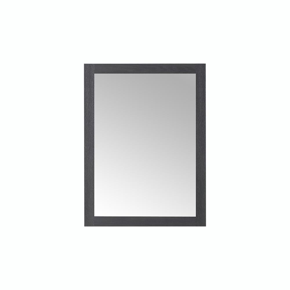 Home Decorators Collection Westcourt 42 in. x 28 in. Single Framed Wall Mount Mirror in Authentic Espresso