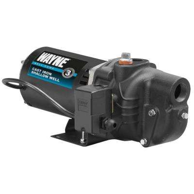 3/4 HP Shallow Well Jet Pump