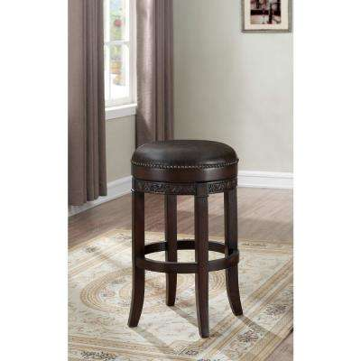 Portofino 26 in. Sierra Swivel Cushioned Bar Stool