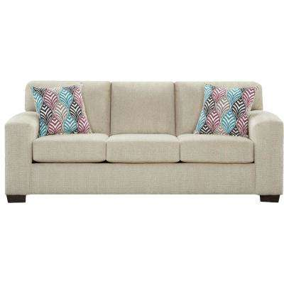 Chamberlain 2-Piece Light Tan Living Room Set (Sofa and Loveseat)