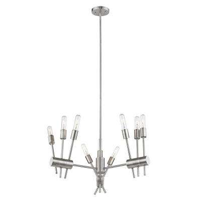 Willsboro 9-Light Polished Nickel Pendant