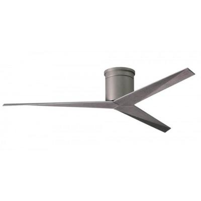 Eliza 56 in. Indoor/Outdoor Brushed Nickel Ceiling Fan with Remote Control and Wall Control
