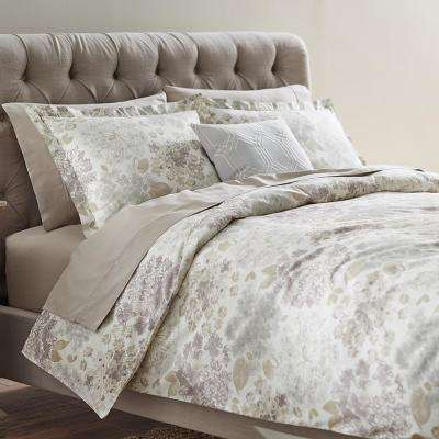 Flower Bed Linen King Duvet
