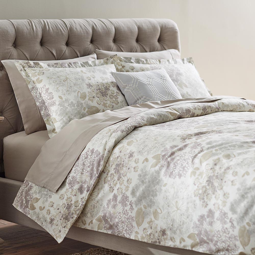 Flower Bed Linen King Duvet
