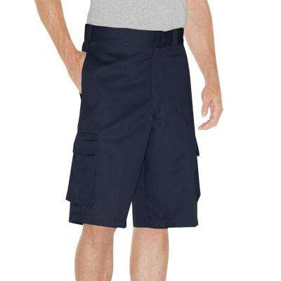 Men 13 in. Loose Fit Dark Navy Cargo Short