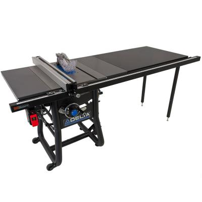 15 Amp 10 in. Table Saw with 52 in. Rip and Steel Extension Tables