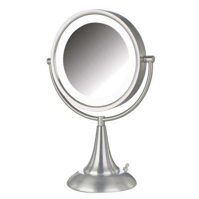 10 in. x 15 in. LED Lighted Table Mirror