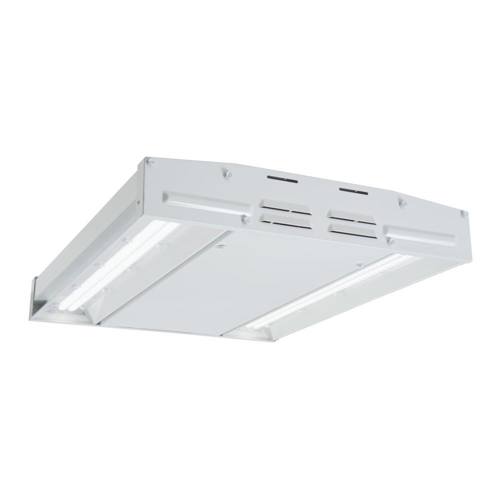 90-Watt 2 ft. White Integrated LED High Bay Light, 12,000-Lumens