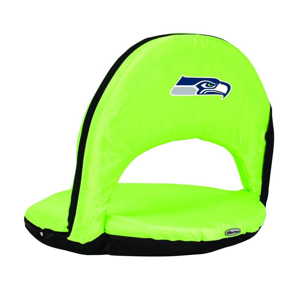 Oniva Seattle Seahawks Lime Patio Sports Chair with Digital Logo
